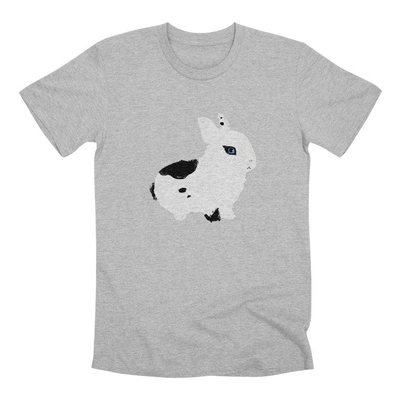 Patchwork Bun Men's Premium T-Shirt by Kristin Tipping