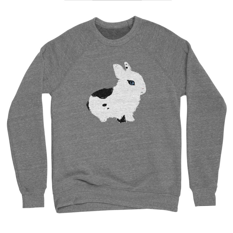 Patchwork Bun Men's Sponge Fleece Sweatshirt by Kristin Tipping