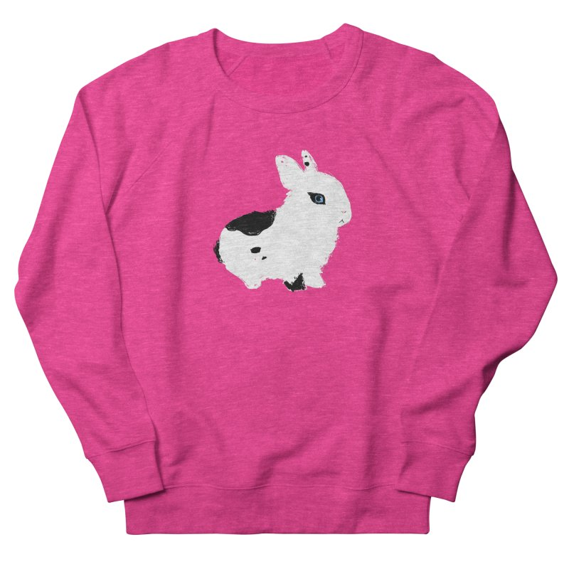 Patchwork Bun Women's French Terry Sweatshirt by Kristin Tipping