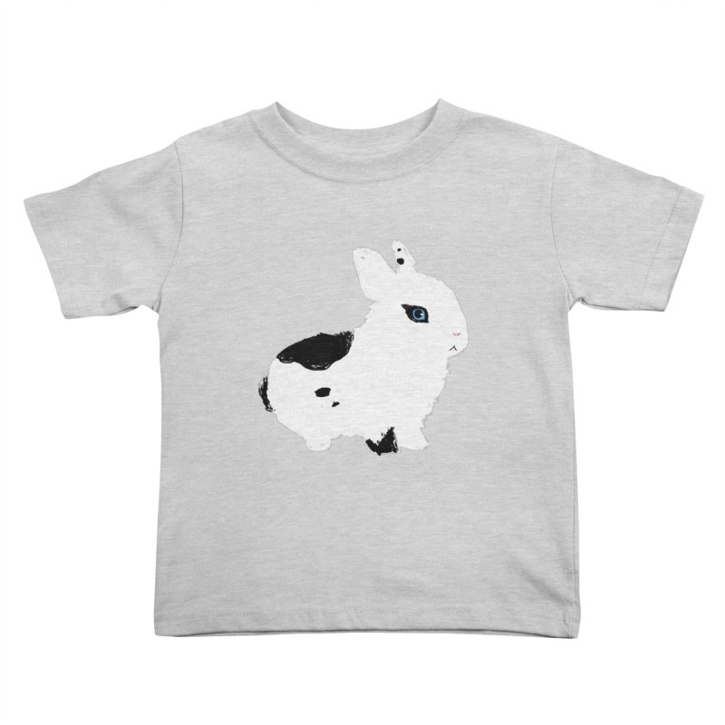 Patchwork Bun Kids Toddler T-Shirt by Kristin Tipping