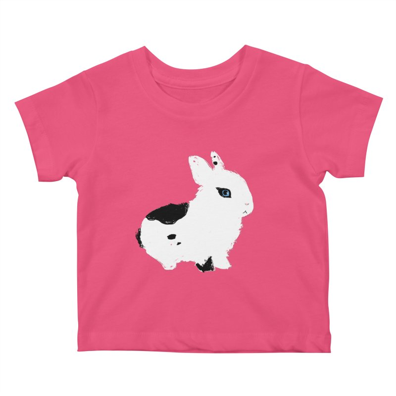 Patchwork Bun Kids Baby T-Shirt by Kristin Tipping