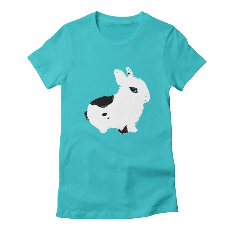 Patchwork Bun Women's T-Shirt by Kristin Tipping