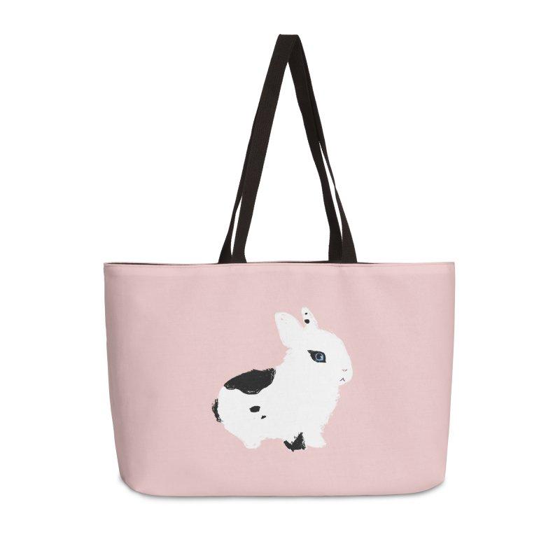 Patchwork Bun Accessories Weekender Bag Bag by Kristin Tipping