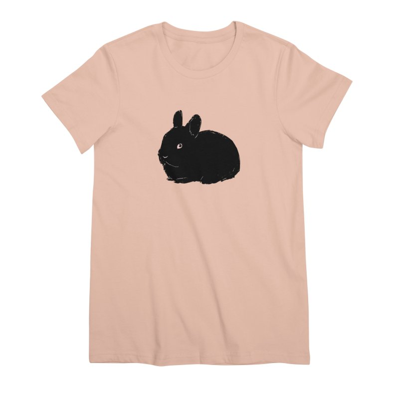 Goth Bun Women's Premium T-Shirt by Kristin Tipping