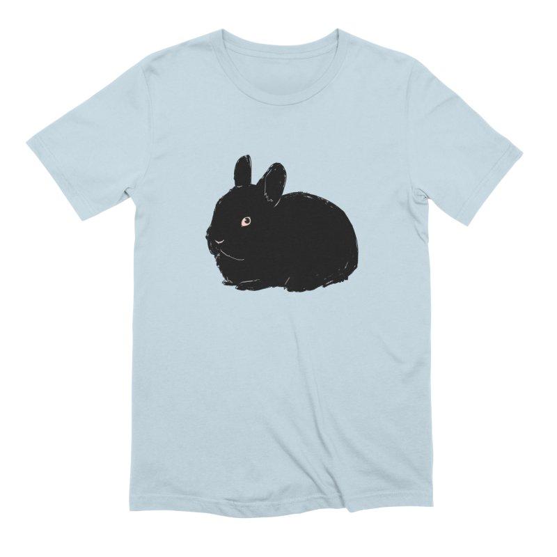 Goth Bun Men's Extra Soft T-Shirt by Kristin Tipping