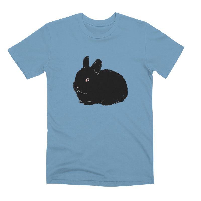 Goth Bun Men's Premium T-Shirt by kristintipping's Artist Shop