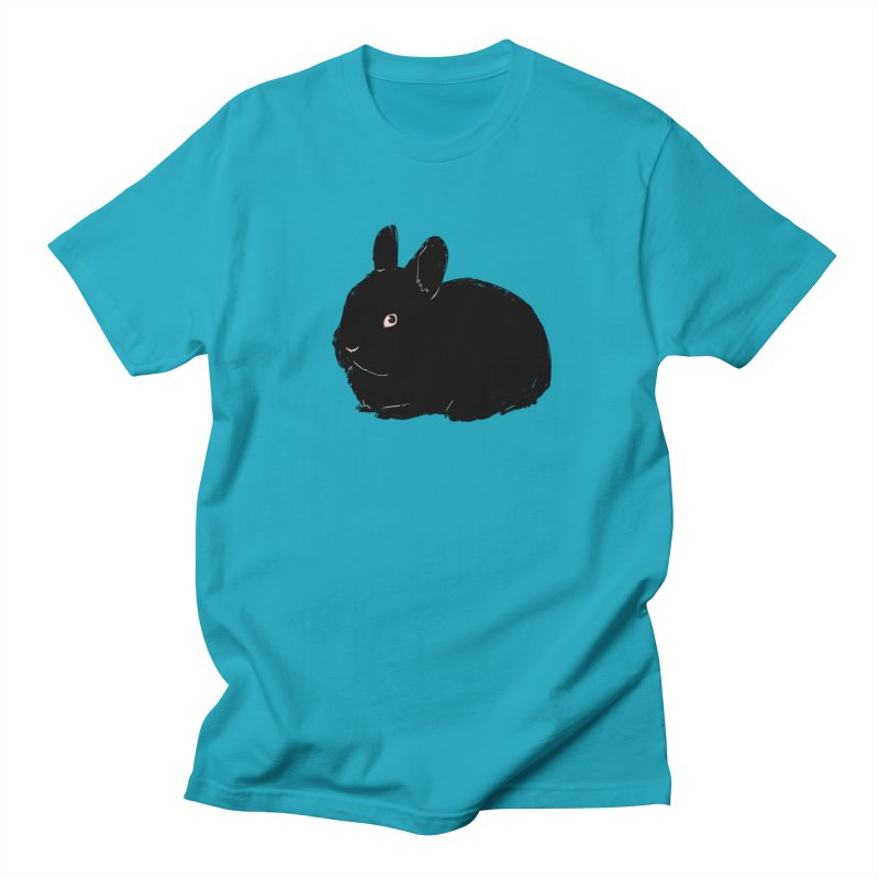 Goth Bun Men's Regular T-Shirt by Kristin Tipping