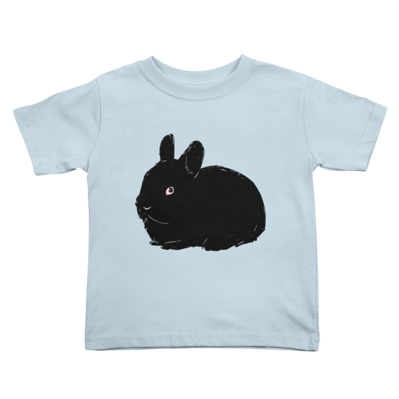 Goth Bun Kids Toddler T-Shirt by Kristin Tipping