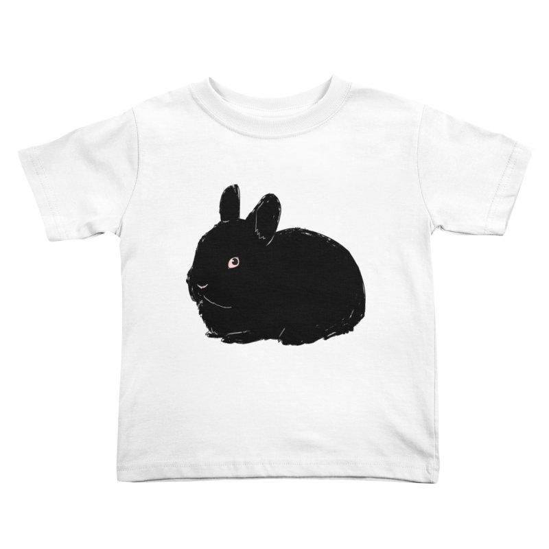 Goth Bun Kids Toddler T-Shirt by Kristin Tipping