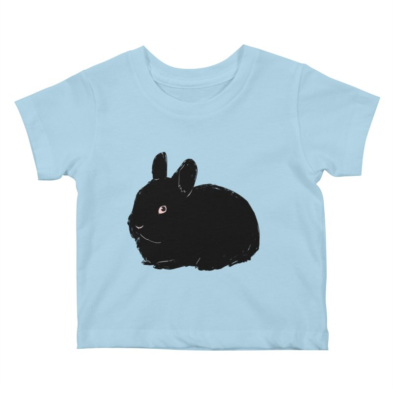 Goth Bun Kids Baby T-Shirt by kristintipping's Artist Shop
