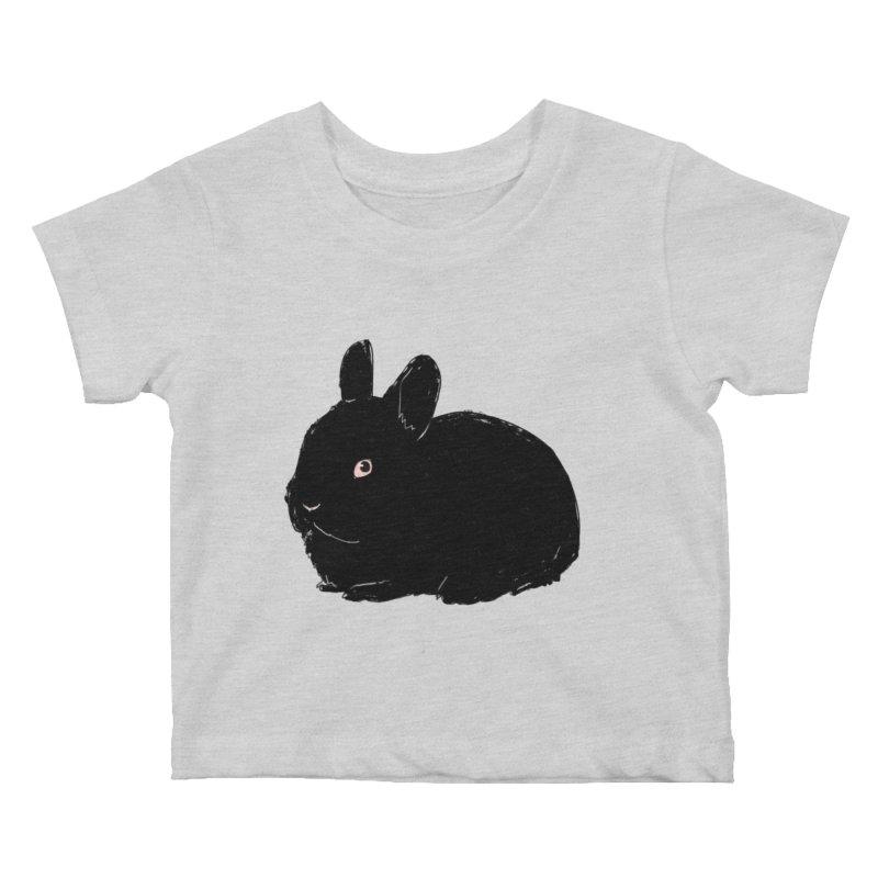 Goth Bun Kids Baby T-Shirt by Kristin Tipping