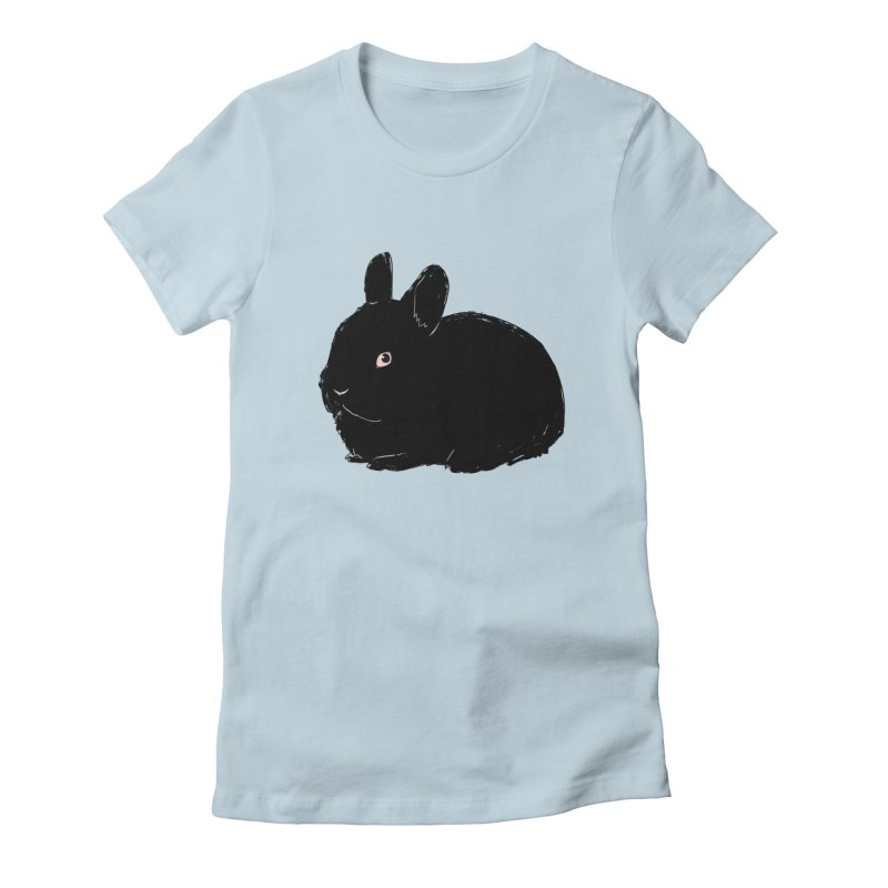 Goth Bun Women's T-Shirt by Kristin Tipping
