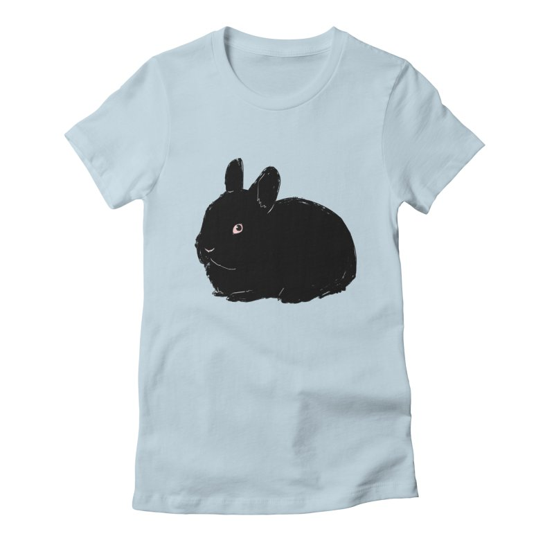 Goth Bun Women's T-Shirt by Kristin Tipping