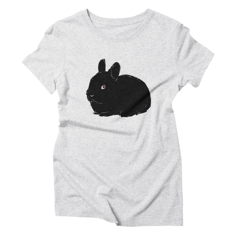 Goth Bun Women's Triblend T-Shirt by kristintipping's Artist Shop