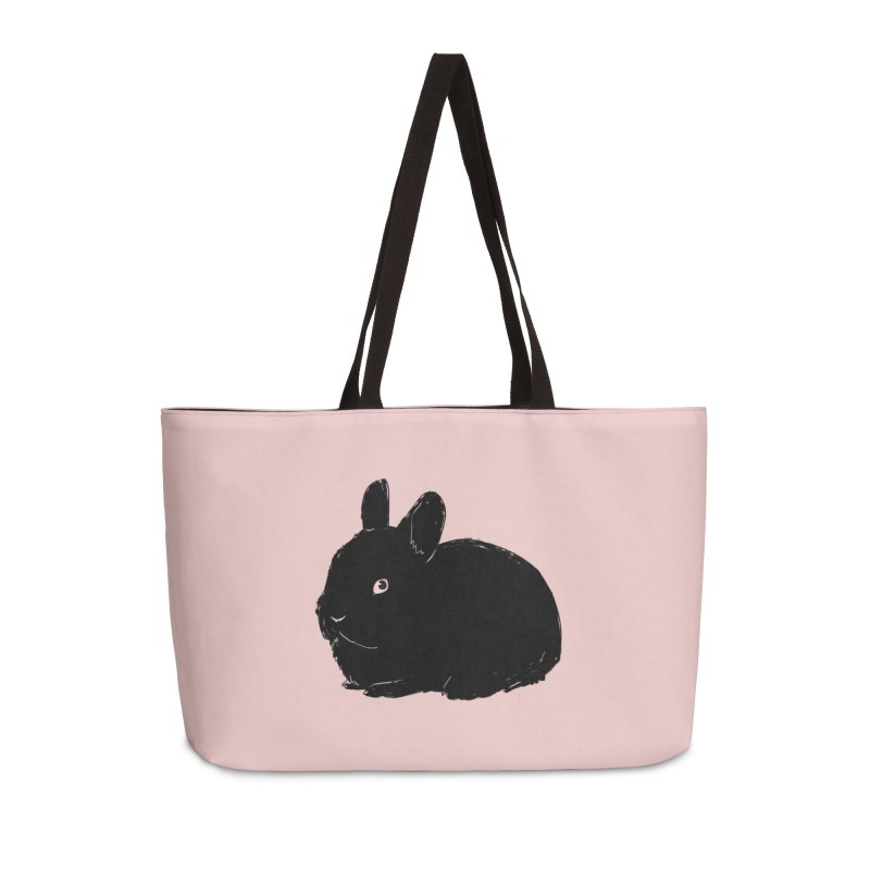 Goth Bun Accessories Weekender Bag Bag by Kristin Tipping