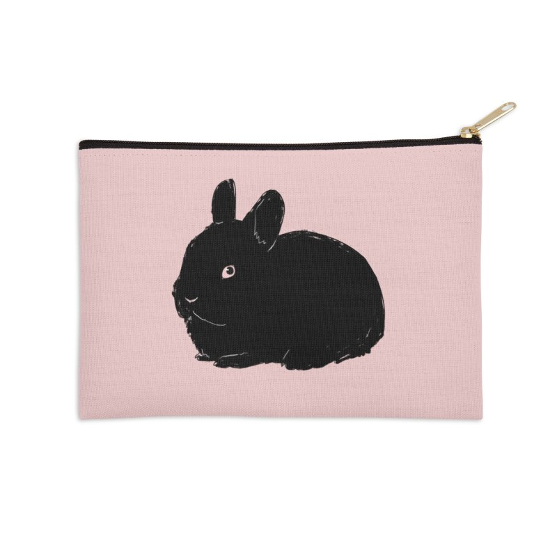 Goth Bun Accessories Zip Pouch by Kristin Tipping
