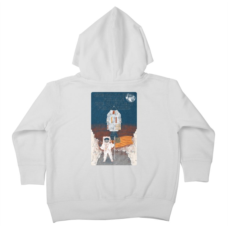 One Small Step Kids Toddler Zip-Up Hoody by Krist Norsworthy Art & Design