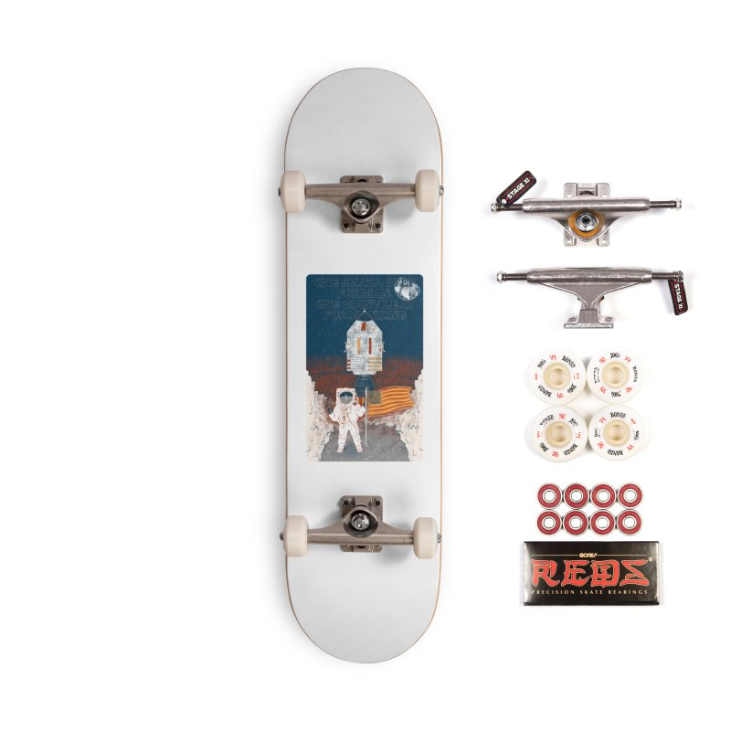 One Small Step Accessories Complete - Pro Skateboard by Krist Norsworthy Art & Design