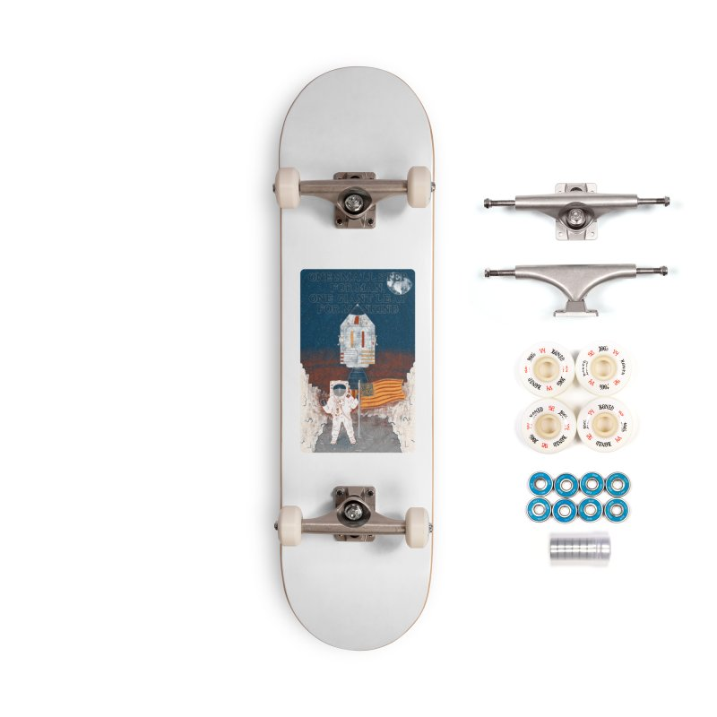 One Small Step Accessories Complete - Premium Skateboard by Krist Norsworthy Art & Design