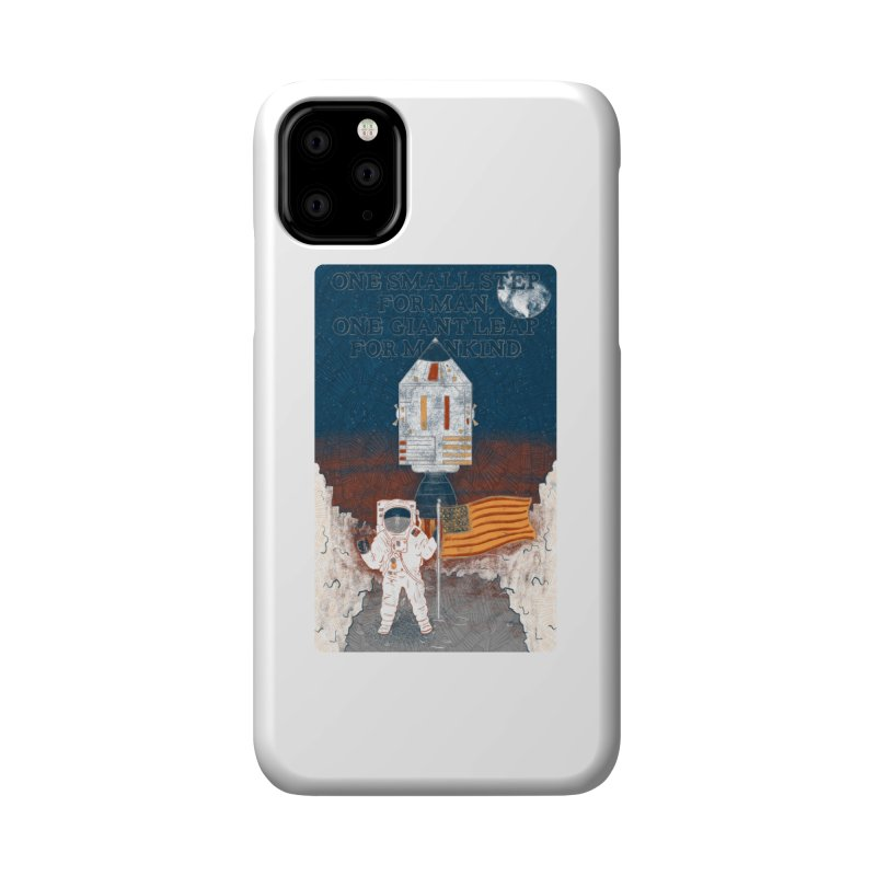 One Small Step Accessories Phone Case by Krist Norsworthy Art & Design