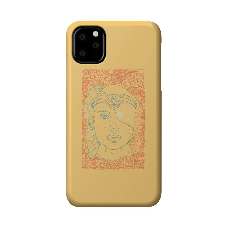 Amazonian Skull Accessories Phone Case by Krist Norsworthy Art & Design