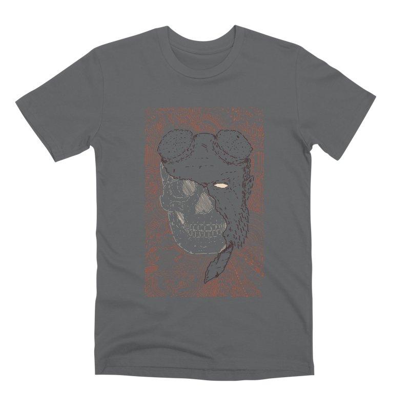 Hades Man Skull Men's Premium T-Shirt by Krist Norsworthy Art & Design