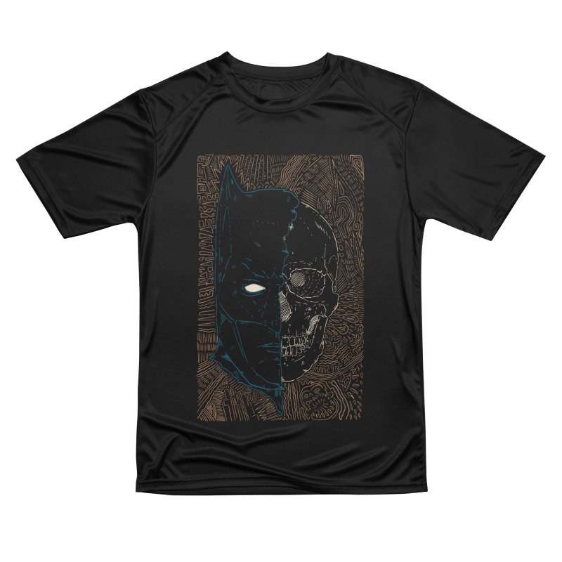 Detective Skull Men's Performance T-Shirt by Krist Norsworthy Art & Design