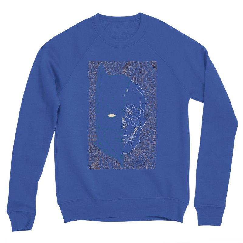 Detective Skull Men's Sponge Fleece Sweatshirt by Krist Norsworthy Art & Design
