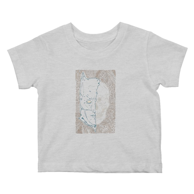Detective Skull Kids Baby T-Shirt by Krist Norsworthy Art & Design
