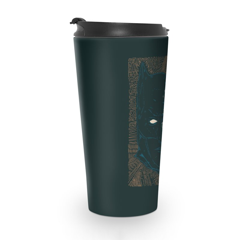 Detective Skull Accessories Travel Mug by Krist Norsworthy Art & Design