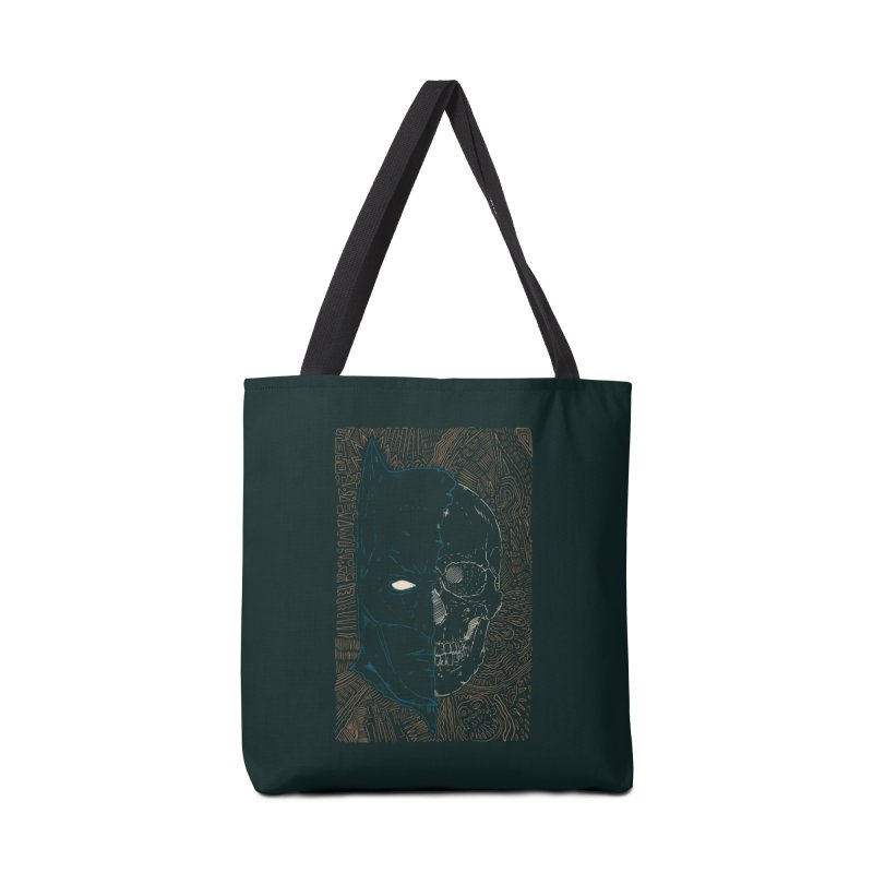 Detective Skull Accessories Tote Bag Bag by Krist Norsworthy Art & Design