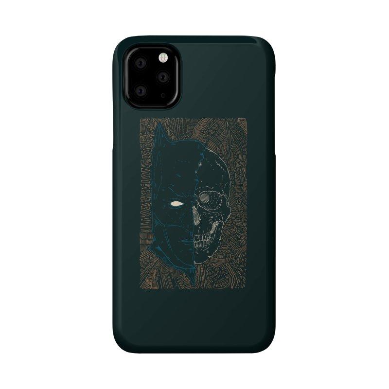 Detective Skull Accessories Phone Case by Krist Norsworthy Art & Design