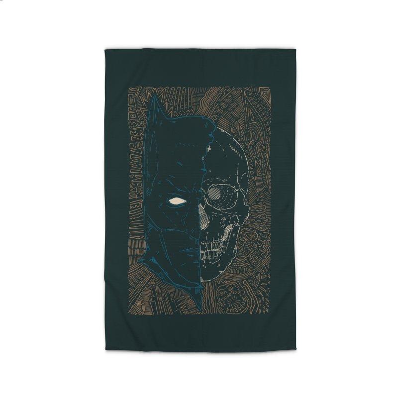 Detective Skull Home Rug by Krist Norsworthy Art & Design