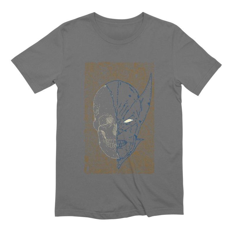 Uncanny Skull Men's Extra Soft T-Shirt by Krist Norsworthy Art & Design