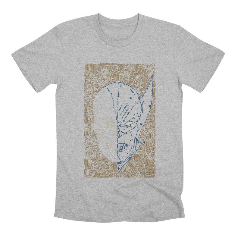 Uncanny Skull Men's Premium T-Shirt by Krist Norsworthy Art & Design