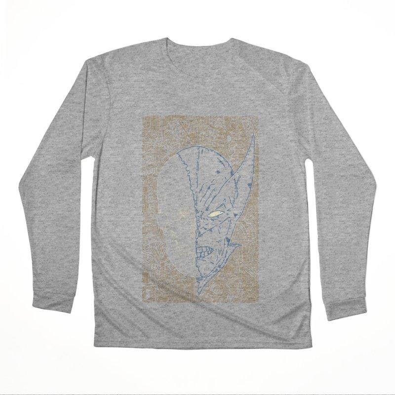 Uncanny Skull Women's Performance Unisex Longsleeve T-Shirt by Krist Norsworthy Art & Design