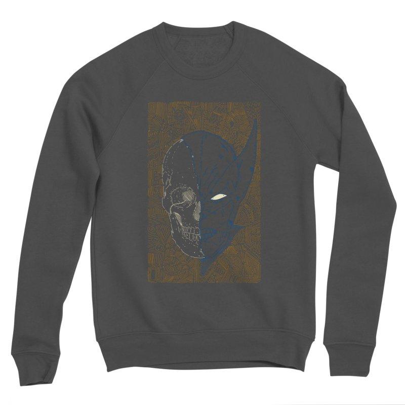 Uncanny Skull Men's Sponge Fleece Sweatshirt by Krist Norsworthy Art & Design