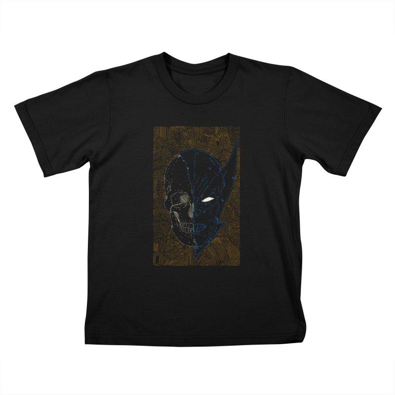 Uncanny Skull Kids T-Shirt by Krist Norsworthy Art & Design