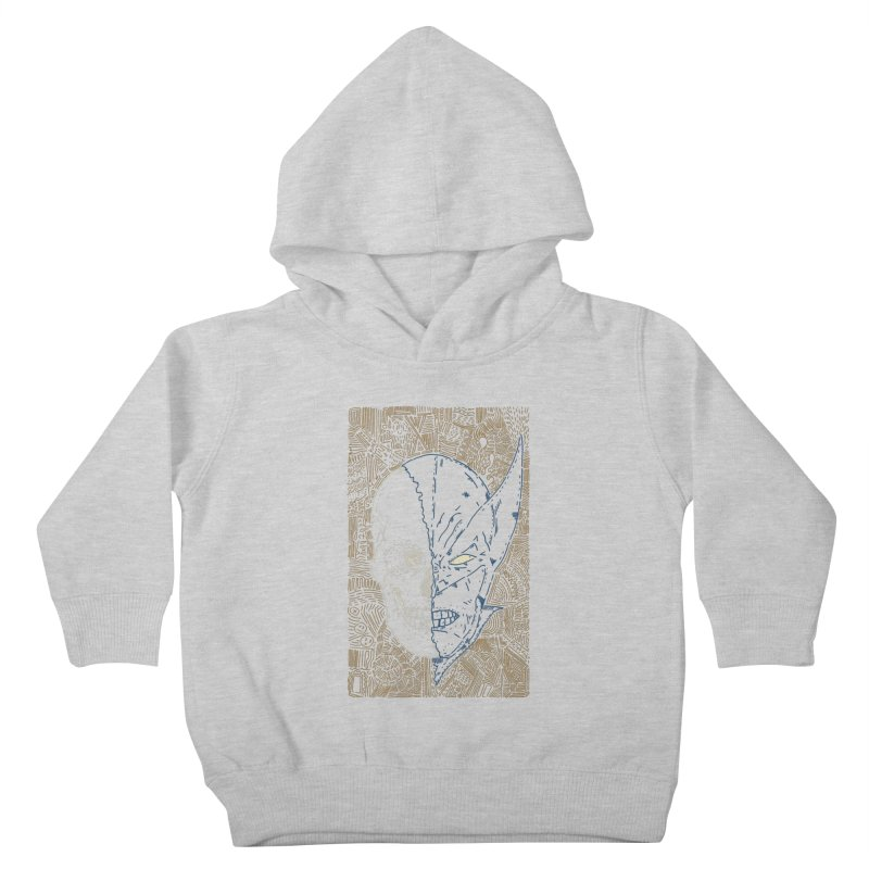 Uncanny Skull Kids Toddler Pullover Hoody by Krist Norsworthy Art & Design