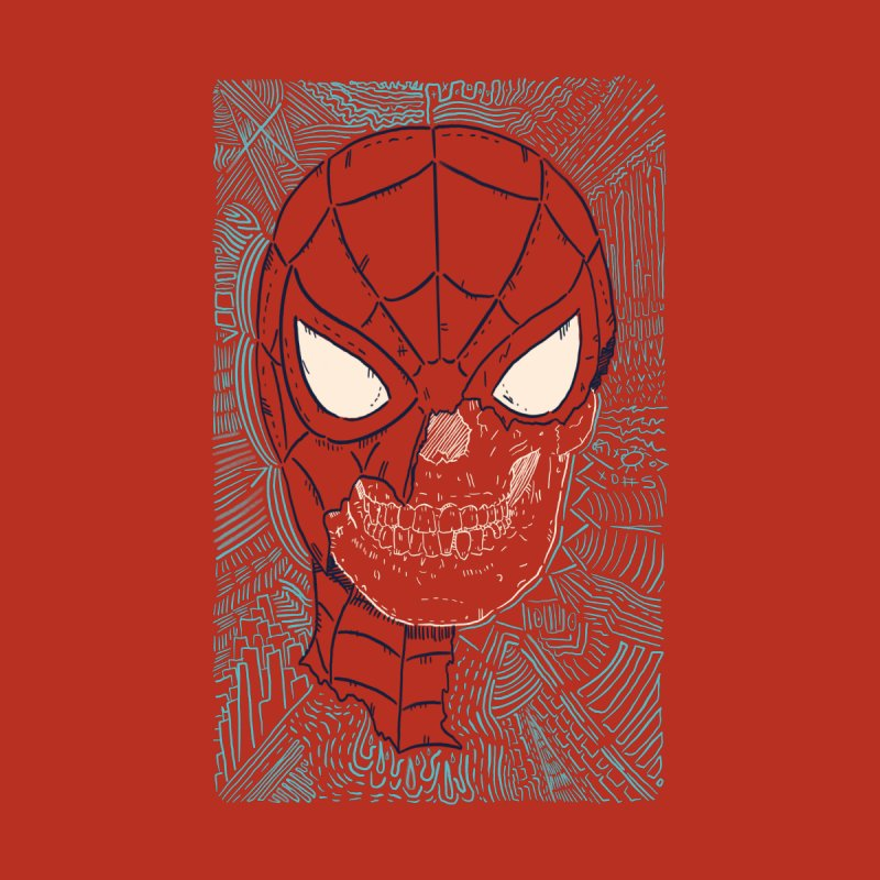 Web Slinger Skull Accessories Mug by Krist Norsworthy Art & Design