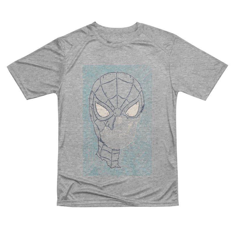 Web Slinger Skull Men's Performance T-Shirt by Krist Norsworthy Art & Design