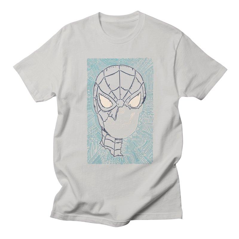 Web Slinger Skull Women's Regular Unisex T-Shirt by Krist Norsworthy Art & Design