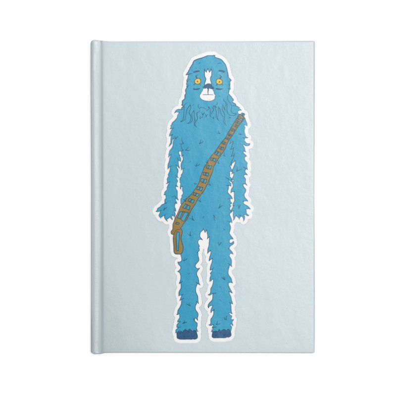 Bluebacca Accessories Blank Journal Notebook by Krist Norsworthy Art & Design