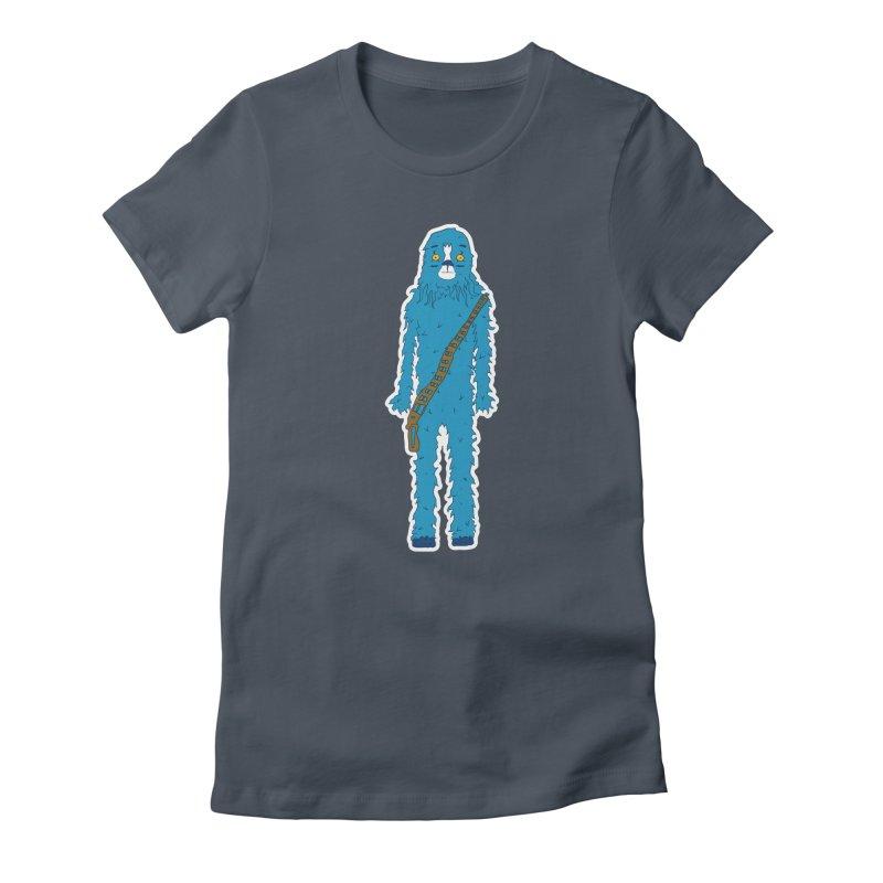 Bluebacca Women's T-Shirt by Krist Norsworthy Art & Design