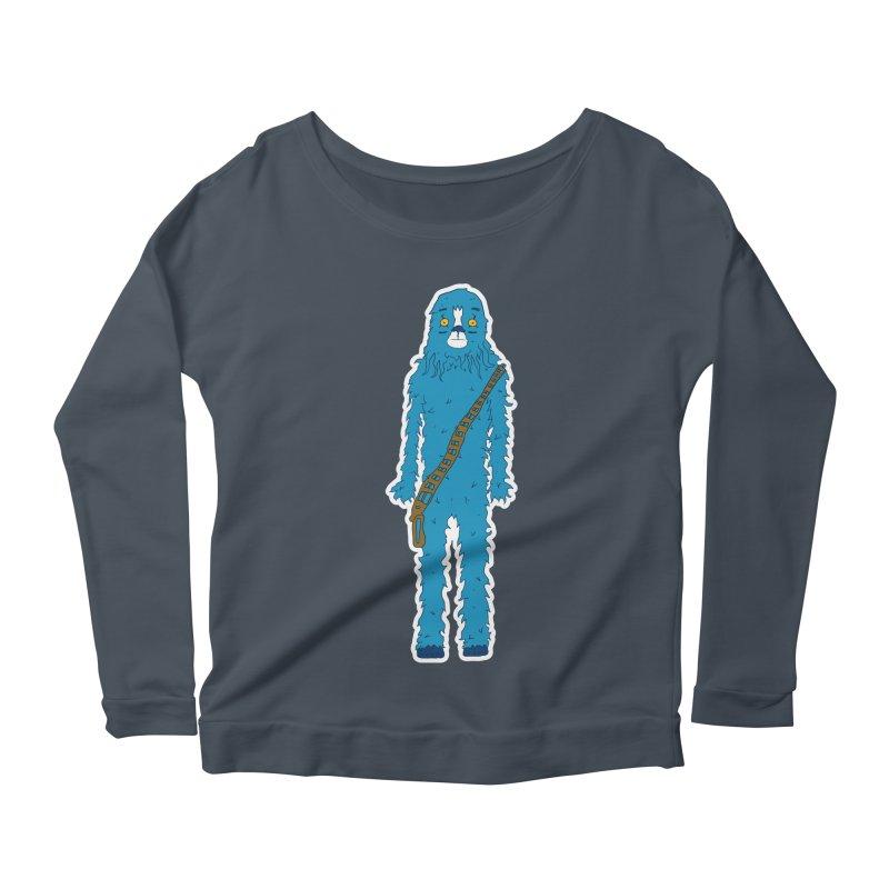 Bluebacca Women's Scoop Neck Longsleeve T-Shirt by Krist Norsworthy Art & Design