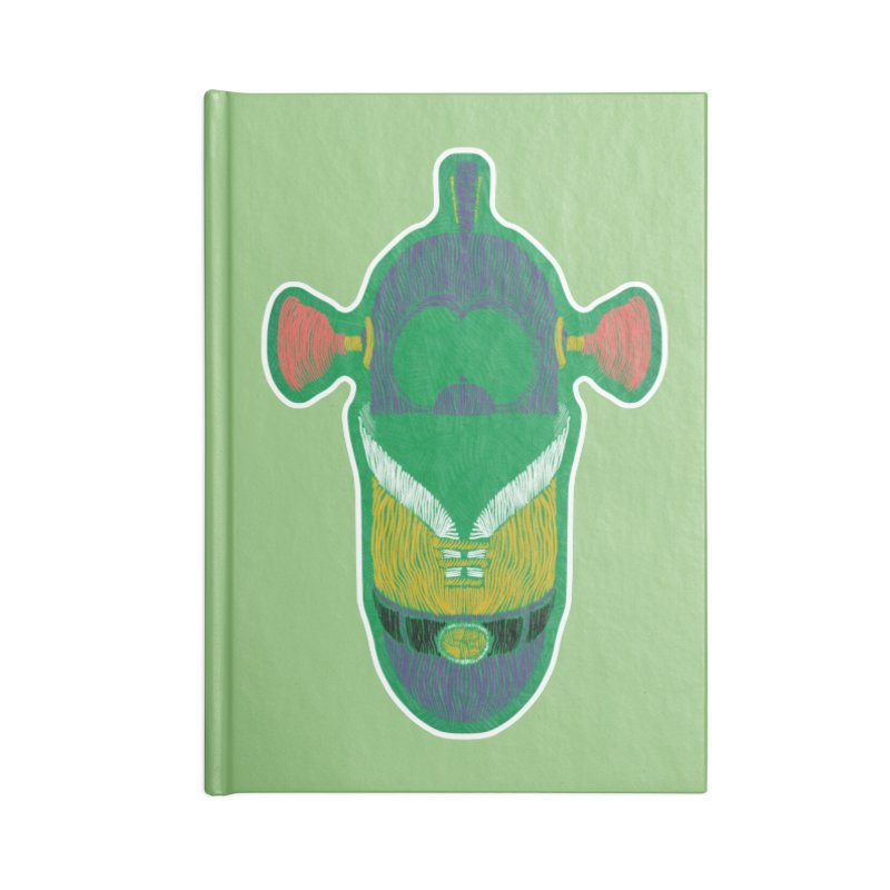 Cucumber Boy Accessories Blank Journal Notebook by Krist Norsworthy Art & Design