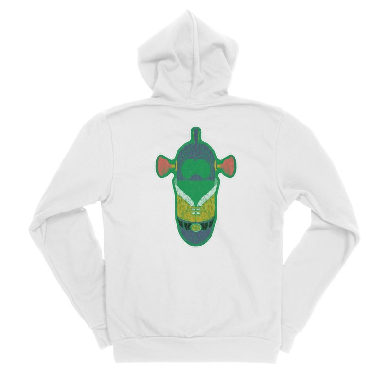 Cucumber Boy Men's Zip-Up Hoody by Krist Norsworthy Art & Design