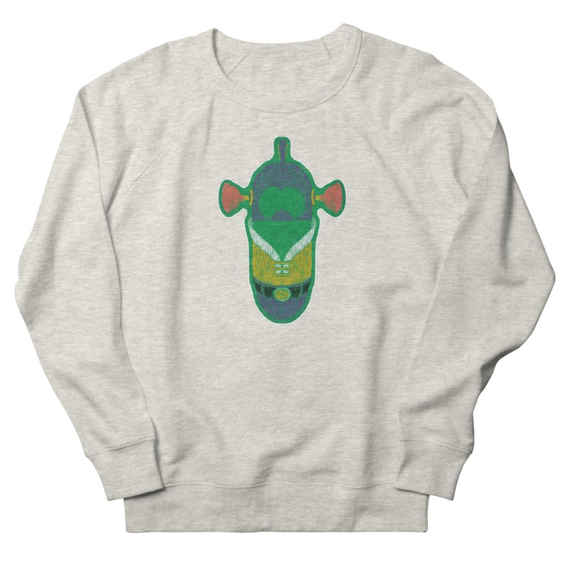 Cucumber Boy Women's French Terry Sweatshirt by Krist Norsworthy Art & Design