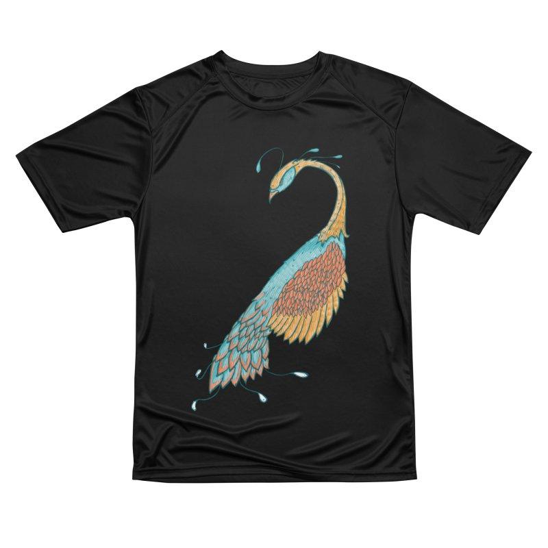 Peacock Women's T-Shirt by Krist Norsworthy Art & Design