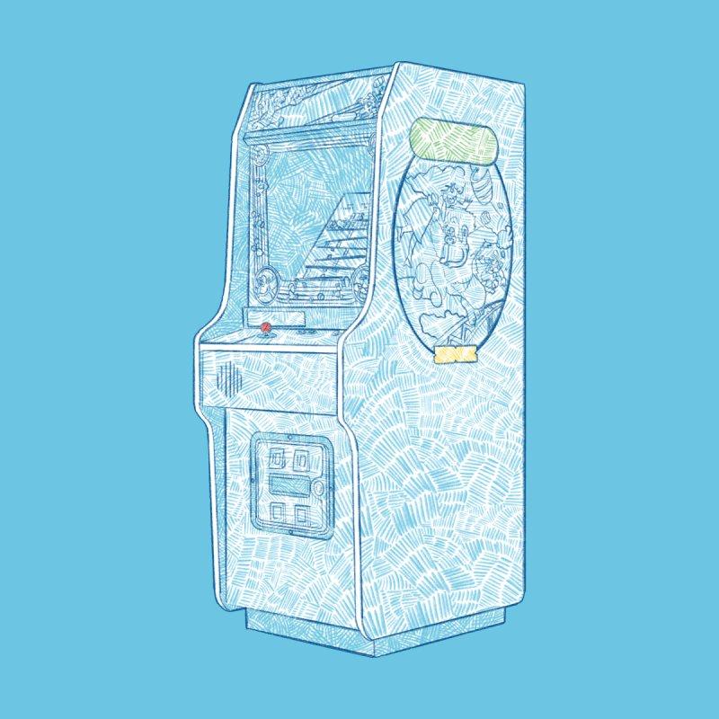 Retro Arcade Cabinet Kids Baby Zip-Up Hoody by Krist Norsworthy Art & Design